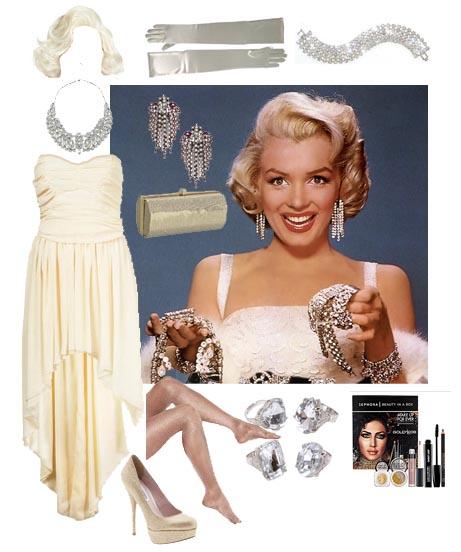 Marilyn Monroe. Need a glam Halloween costume?  sc 1 st  What2WearWhere & Marilyn Monroe Halloween Costume