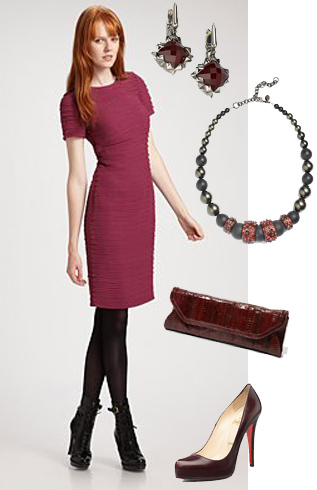 Burgundy to Claret Cocktail Dresses – Best Digital Retail Online ... be7db4053