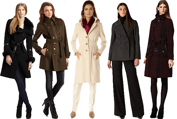Perfect Outerwear: Winter Coats