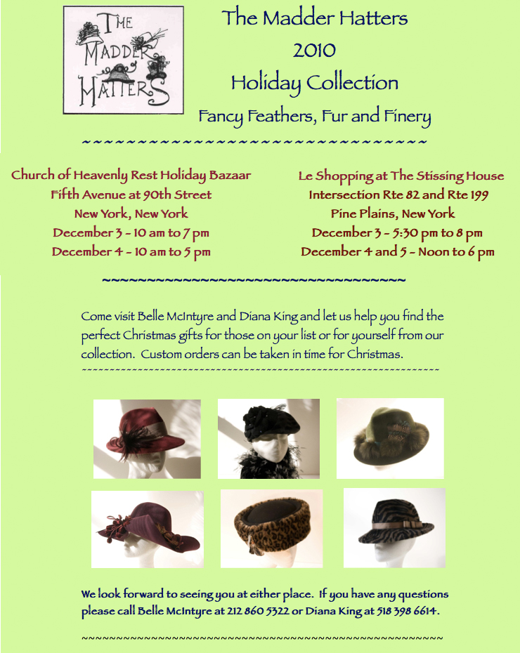 Mad Hatters Trunk Show