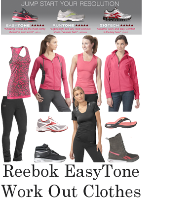 Reebok EasyTone Work Out Clothing