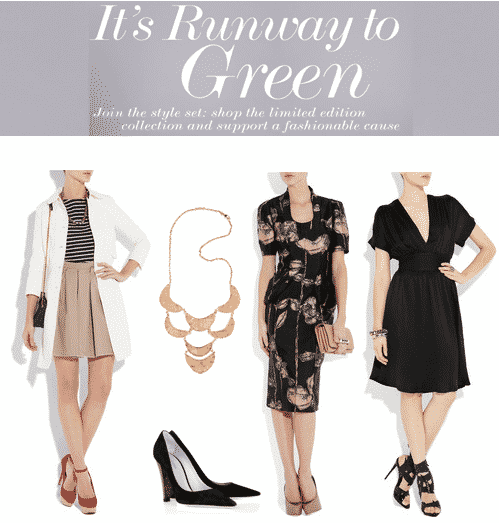 Net-a-Porter Runway to Green Collection