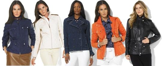 Ralph Lauren Spring Jackets