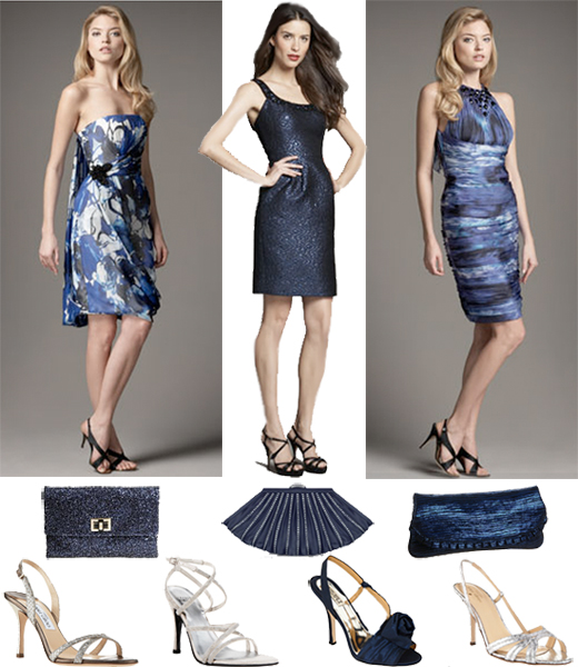 What to Wear Weddings: Royal Blue