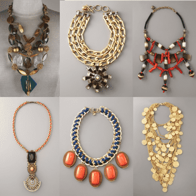 BG Statement Necklaces