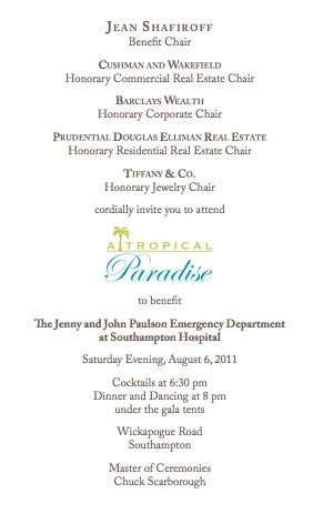 Southampton Hospital's 53rd Annual Summer Party - Shop Karen