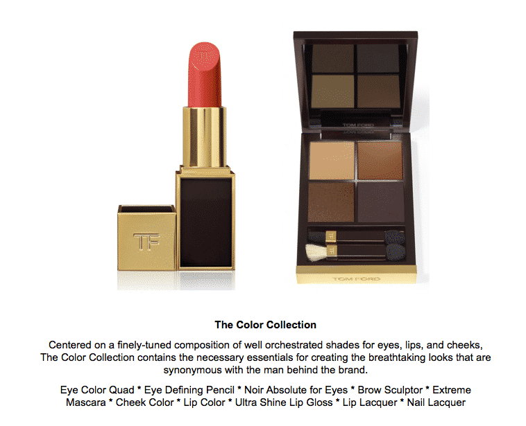 Tom Ford Beauty at Bergdorf