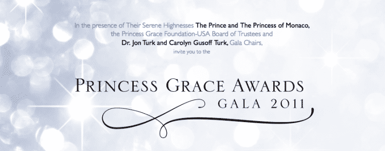The Princess Grace Foundation Gala
