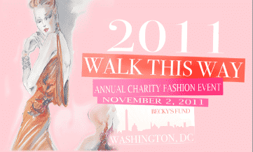 Charity Fashion Show in D.C.