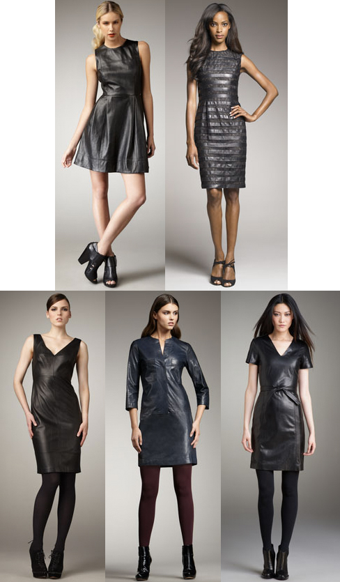 Leather Dresses On Sale