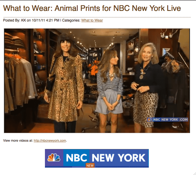 New York Live Animal Prints