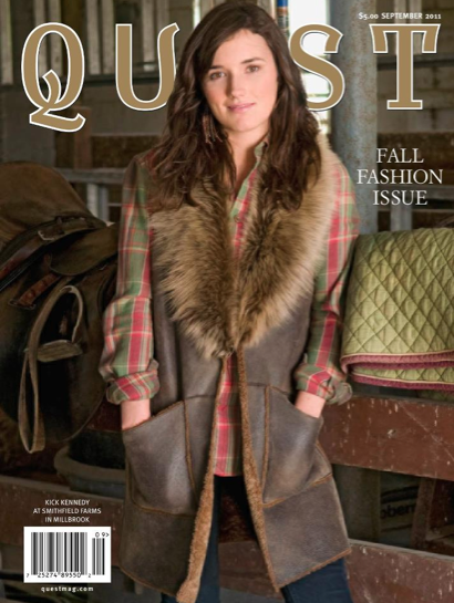 Karen Klopp What To Wear Where ,Quest Magazine's September Fashion Issue Fashion On The farm