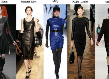 Fashion Week Trends Leather