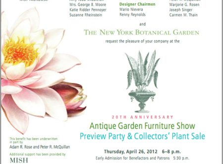 NY Botanical Garden Antique Furniture Show