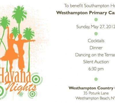 Havana Nights Invitation
