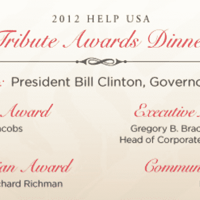 HELP USA Tribute Awards Dinner