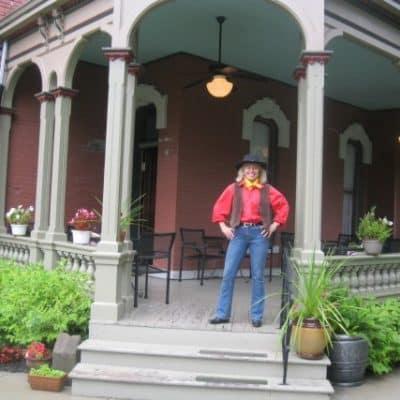 Miriam Eaves Pony Express