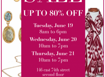 Julie Collection Sample Sale