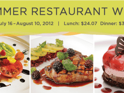 NYC Summer Restaurant Week