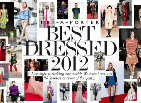 NET-A-PORTER Best Dressed 2012