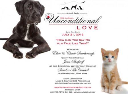 3rd Annual Unconditional Love Benefit Invitation