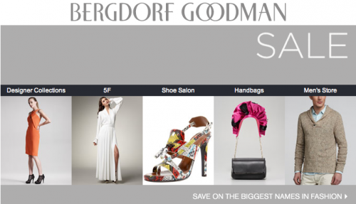 Bergdorf Goodman Sale