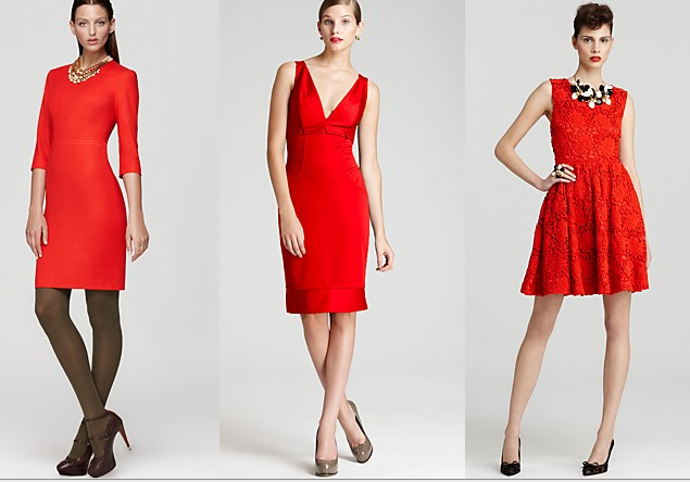 Bloomingdales Red Dresses
