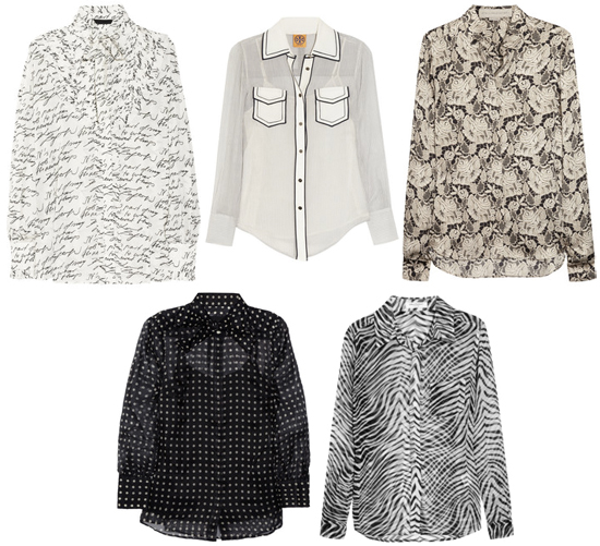 Transitional Blouses