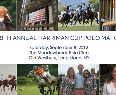 28th Annual Harriman Cup Polo Match