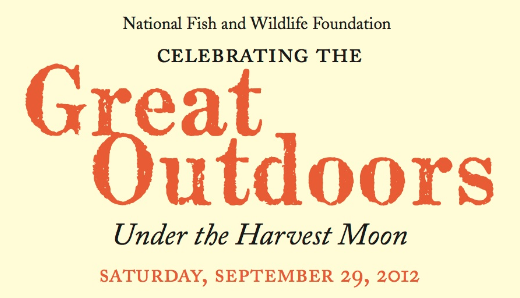 The great outdoors in greenwich for National fish and wildlife foundation