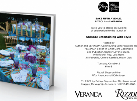 Soiree Book Launch Event at Saks
