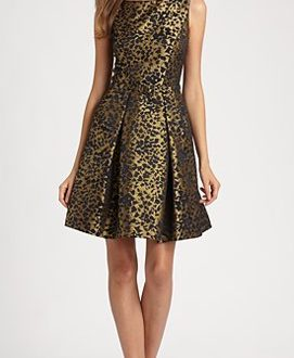 Brocade Party Dress