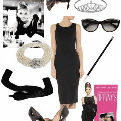 Audrey Hepburn Holly Golightly Halloween Costume