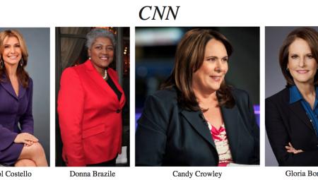 CNN Female Political Correspondents