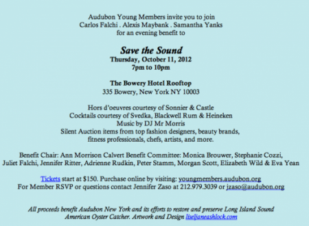 save the sound audubon young members