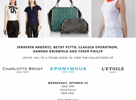Charlotte Brody Trunk Show with Eponymous and L'Etoile Sport