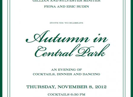 Central Park Conservancy Autumn in Central Park