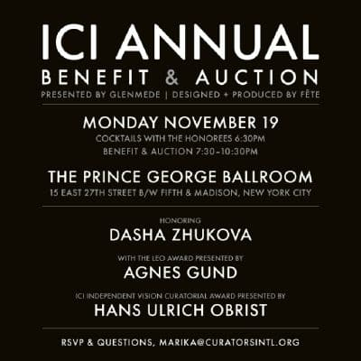 ICI Annual Benefit and Auction