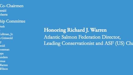 Atlantic Salmon Foundation 30th Annual New York Dinner