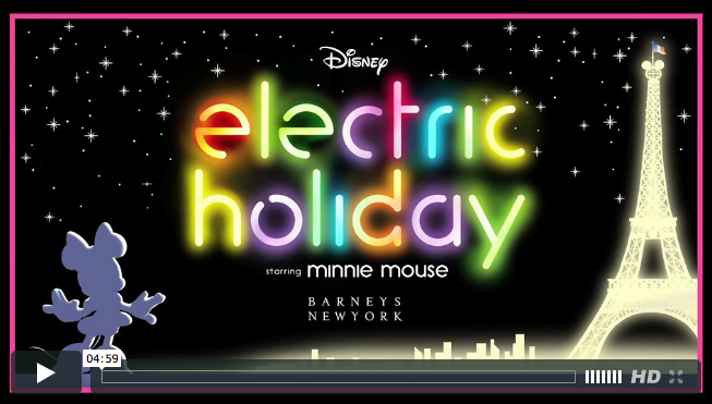 barneys disney electric holiday