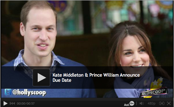 Kate Middleton Due Date Announced