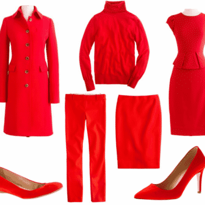 Wear Red Day J.Crew Collage