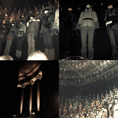 Moncler Grenoble Mercedes-Benz Fashion Week Show Fall 2013 Collection