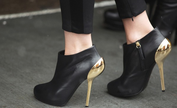 Refinery29 Shoe Stalking 38 Shoes that Braved the Blizzard at NYFW