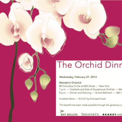 New York Botanical Garden Orchid Dinner