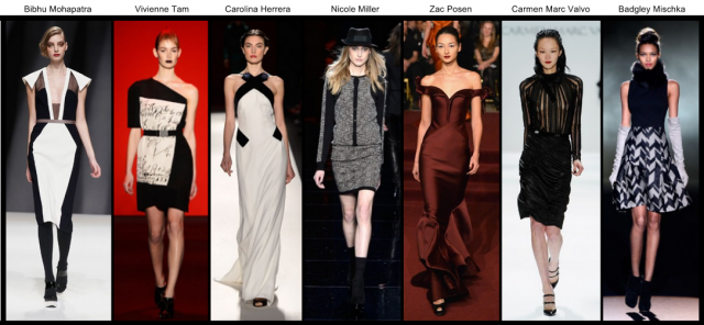 Mercedes-Benz Fashion Week Fall 2013 Trends