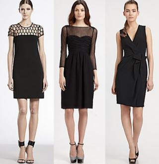 Little Black Dresses Saks