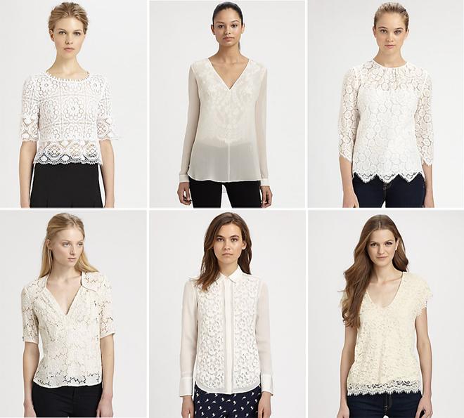 435f929d8a1 White Lace Tops – Best Digital Retail Online Boutique   Blog for ...
