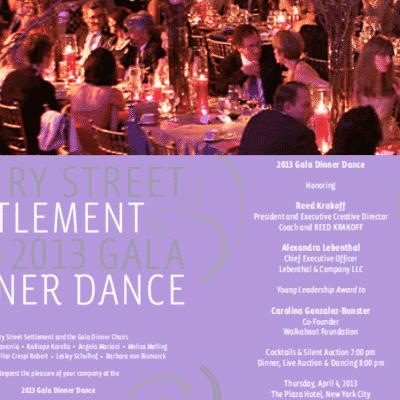 Henry Street Settlement Dinner Dance
