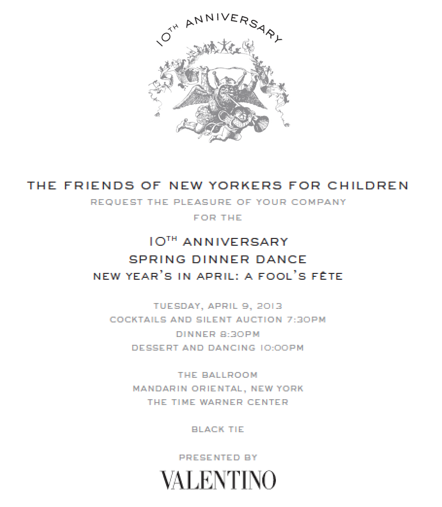new yorkers for children fool's fete